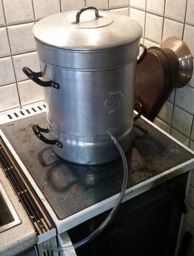 Dampfentsafter Setup