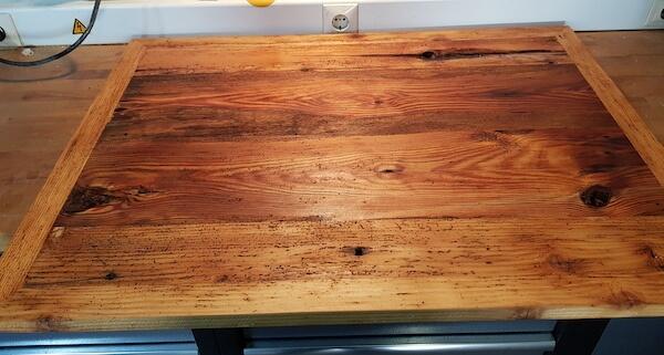 Grundplatte für die Tischplatte
