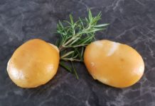 geräucherter Mozzarella