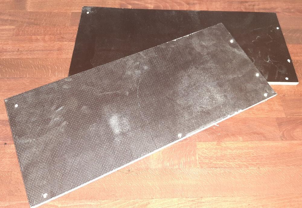 Zugeschnittene Grundplatten